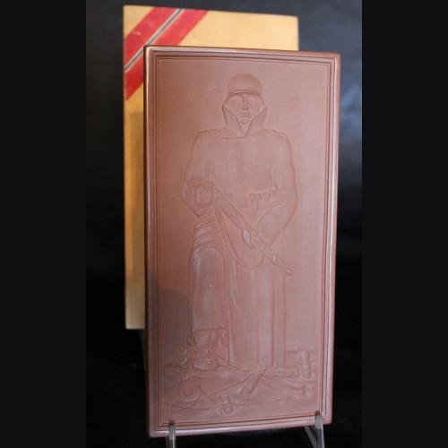Meissen Presentation Plaque Boxed with Documentation- Demjansk # 3459