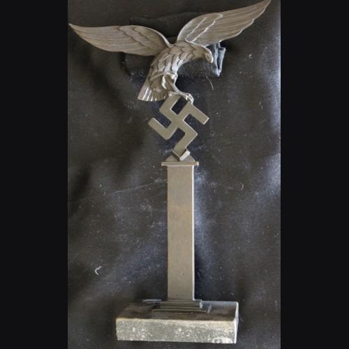 Standing Luftwaffe Pillar Bird in Bronze (J. Pabst) # 3458