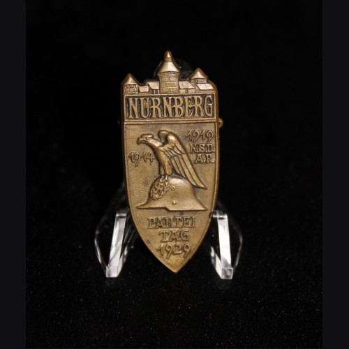 1929 Nuremberg Rally Badge- Bronze # 3470