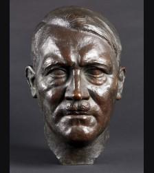 Adolf Hitler Bronze Bust- Gerhard Schleipstein (1886-1963) # 3472