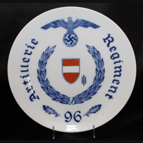 Meissen Regimental Plate- Artillery Regiment 96