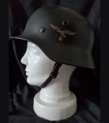 Single Decal Luftwaffe M40 Q66 Helmet # 3484