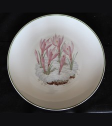 Allach Porcelain- 1943 Oswald Pohl Julfest Presentation Plate