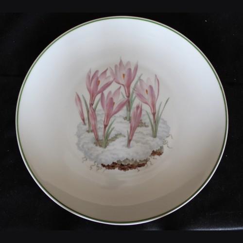 Allach Porcelain- 1943 Oswald Pohl Julfest Presentation Plate # 3498