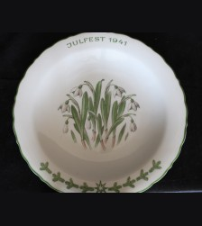 Allach Porcelain- 1941 Oswald Pohl Julfest Presentation Plate
