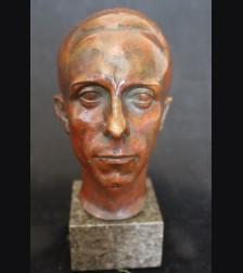Joseph Goebbels Bronze Bust- St. Rolten U Hahn Muchen  # 3514