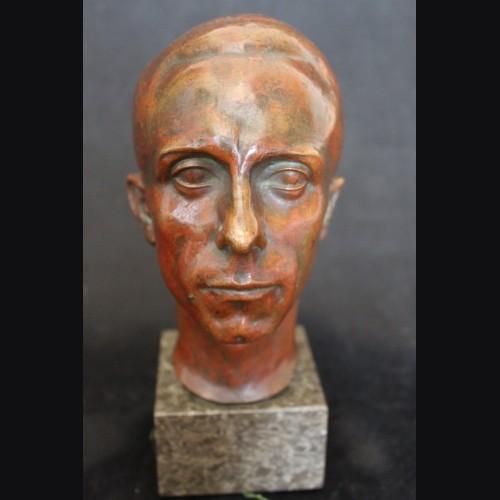 Joseph Goebbels Bronze Bust- St. Rolten U Hahn Muchen