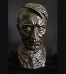 Adolf Hitler Bronze Bust- Erich Schmidt-Kestner (1877–1941) # 3281