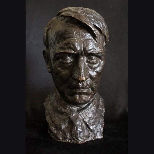 Adolf Hitler Bronze Bust- (Noack) # 3281