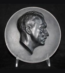 Adolf Hitler Iron Plaque- ( Arno Breker ) # 3283