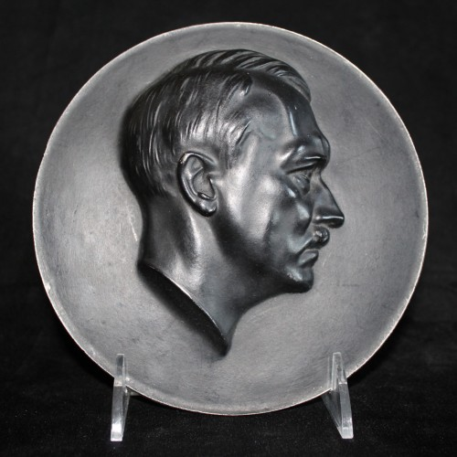 Adolf Hitler Iron Plaque- ( Arno Breker ) # 3283