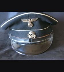 Allgemeine SS NCO Visor (Early) # 798