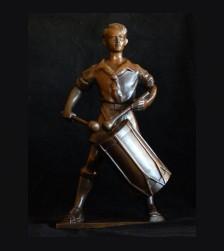 Hitler Youth Drummer in Bronze (Hitlerjugend Trommler) # 3164