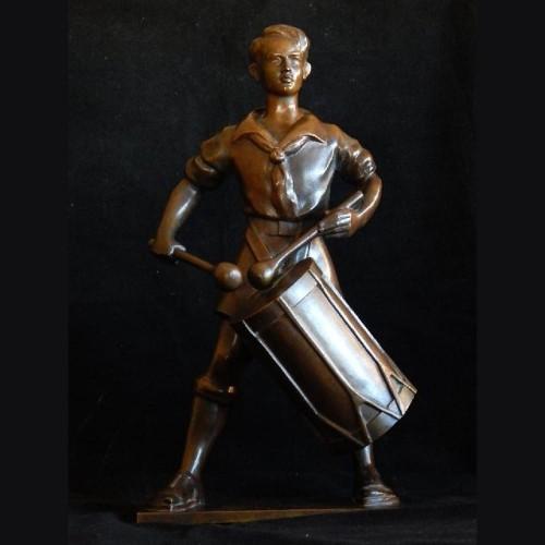 Hitlerjugend Trommler Bronze