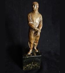 Third Reich Standing Bronze Pilot # 3266
