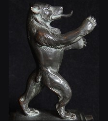 Third Reich Bronze Berlin Bear # 3267