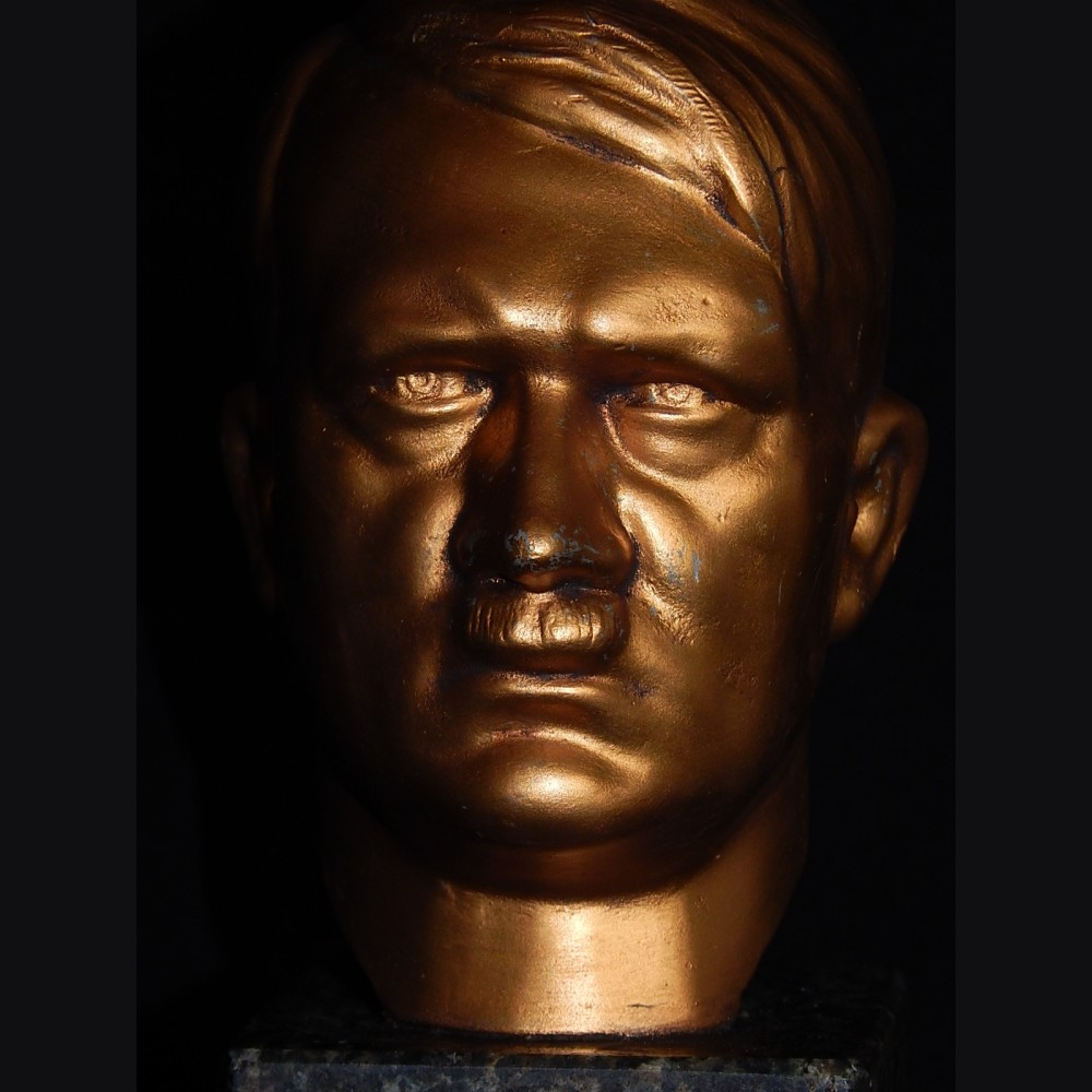 Adolf Hitler Presentation Bust Bronze Sculpture For