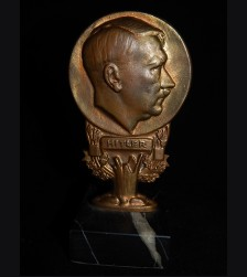 Adolf Hitler- Deutschland Erwache Bronze Desk Ornament # 3269