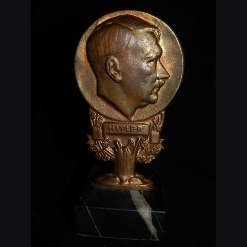 Adolf Hitler- Deutschland Erwache Bronze Desk Ornament # 3269