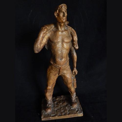 Bergmann (Miner) Bronze by Peter Muller-Munk 1930 # 3275