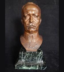 General Erich Ludendorff Bronze Bust (1917)- Ludwig Manzel # 3276