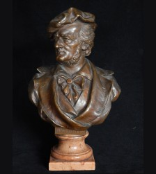 Richard Wagner Bronze Bust # 3288