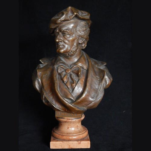 Richard Wagner Bronze Bust