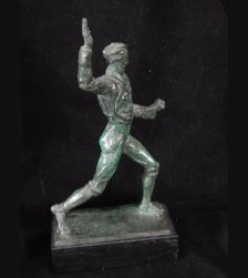 Bronze SA Mann- Hermann Hosaeus # 3063