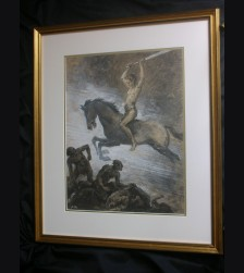 Original Albert Reich Artwork- Ride of the Valkyrie # 3002