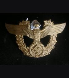 Deutsches Polizei Shako Eagle- Gold  # 3024