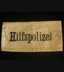 Hilfspolizei Armband- Auxiliary Polizei # 3047