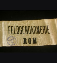 Feldgendarmerie Rom Armband- Field Police Rome # 3051
