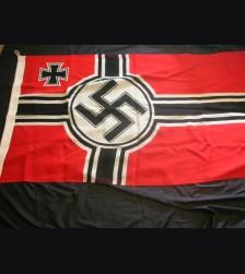 Third Reich War Flag- Kriegsmarine 80 x 135 # 3059