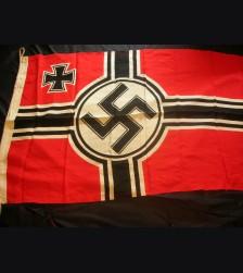 Third Reich War Flag- Kriegsmarine 80 x 135 # 3070
