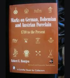 Marks on German, Bohemian and Austrian Porcelain # 3101