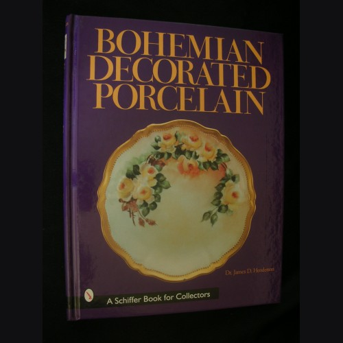 Bohemian Decorated Porcelain # 3105