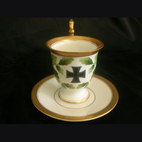 Iron Cross Patriotic Cup and Saucer- Rosenthal # 3126