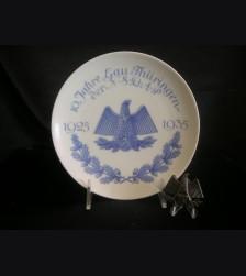 Gau Thuringen Anniversary Plate & Tinnie  # 3144