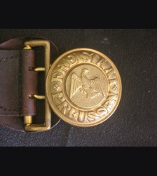 Prussian Landjagerei Officers Buckle ( Schutzpolizei ) # 3183