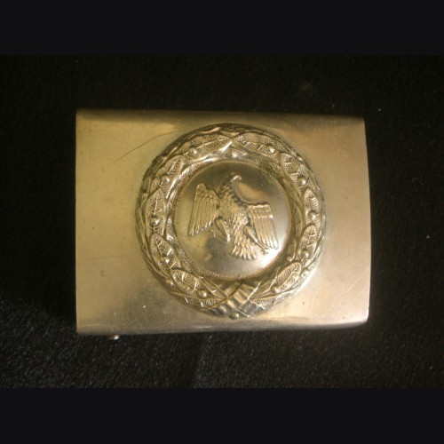 Prussian Enlisted Mans Belt Buckle ( Shutzpolizei ) # 3186