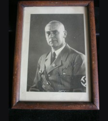 Wilhelm Frick Ink Signed Photo # 3180
