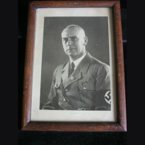 Wilhelm Frick Ink Signed Photo # 3180