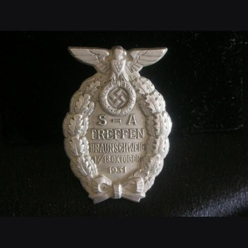 S.A Treffen Badge 1931 # 3196