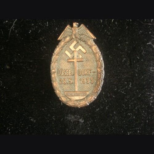 Schlageter Badge Dusseldorf # 3200