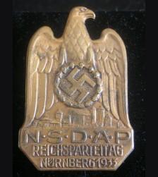 Nuremberg Badge 1933 # 3201