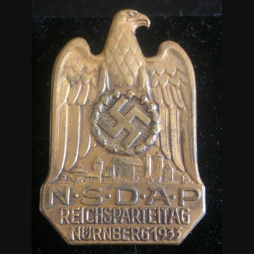 Nuremberg Badge 1933 # 3201