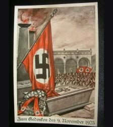 Putch Commemorative Postcard 1923 Martyr's Card # 3215