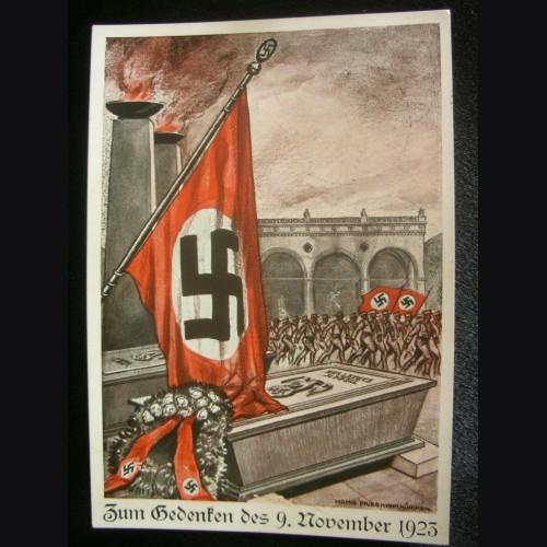 Putch Commemorative Postcard 1923 Martyr's Card