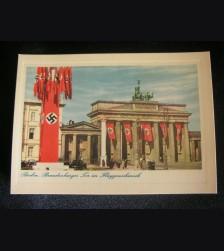 Reich Postcard Brandenburg Gate # 3216