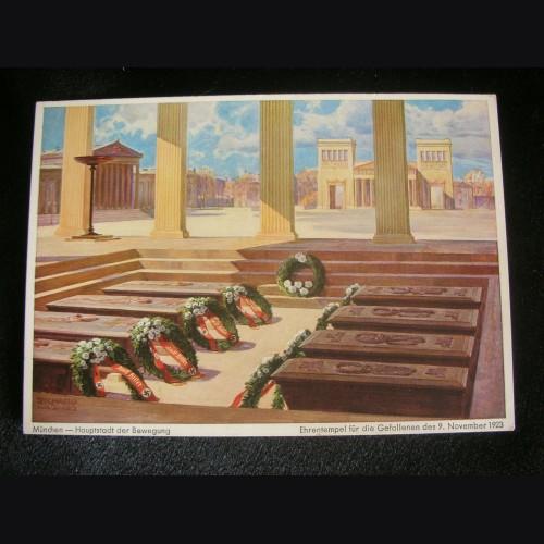 Felderrnhalle Martyr's Postcard # 3217